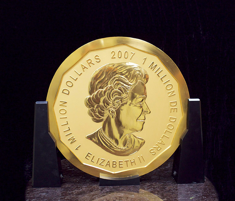 100 Kg Rcm Gold Quot Million Dollar Quot Coin 99999 Buy From Kitco