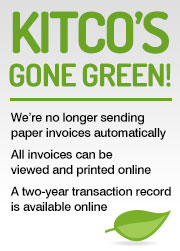 Kitco's Gone Green