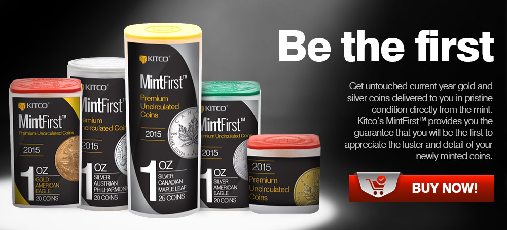 MintFirst - Get untouched current year coins sealed directly from the mint.