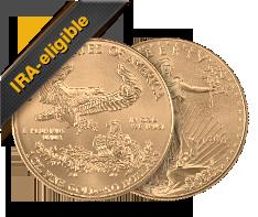 1 oz Gold Eagle Coins