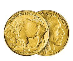 1 oz Gold Buffalo Coins