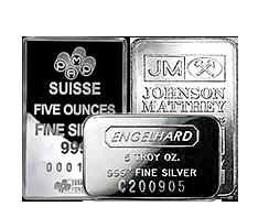 5 oz Silver Bars