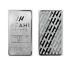 10 oz Silver Asahi Bar .999