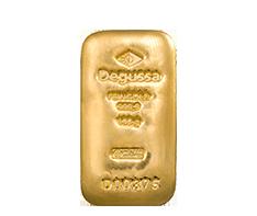 100 g Gold Degussa Cast Bar