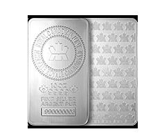 10oz Silver RCM Bar .999
