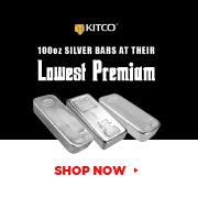 100 oz Silver Bars