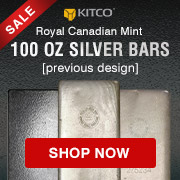 100 oz Silver RCM Bars