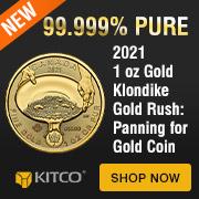 2021 1 oz Gold Klondike Gold Rush