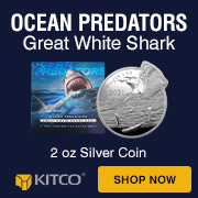 2 oz Great White Shark coin