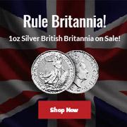 1 oz British Silver Britannia