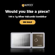 Valcambi Silver Combibar