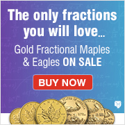 Gold Fractional Coins