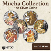 1 oz Silver Mucha Rounds