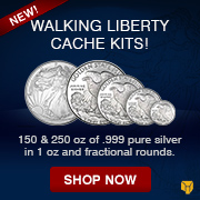 Walking Liberty Cache Kits Awareness