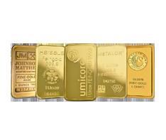 1 oz Gold Bars