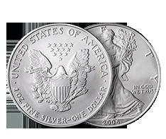 1 oz Silver American Eagle Coins