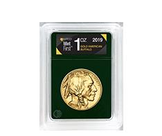 2019 MintFirst 1 oz Gold American Buffalo (Single Coin)