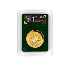 2019 MintFirst 1 oz Gold Australian Kangaroo (Single Coin)
