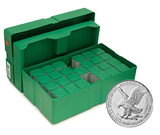 2021 MintFirst� Silver Eagle Coins Monster Box (500 pc) - New Design