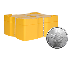 2021 MintFirst� Silver Maple Leaf Coin Monster Box (500 pcs)