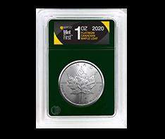 2020 1 oz Platinum Maple Leaf - MintFirst�