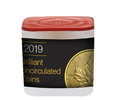2019 MintFirst 1 oz Gold Maple Leaf (10 coins) .9999