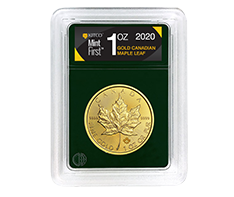 2020 MintFirst 1 oz Gold Maple Leaf (Single coin) .9999