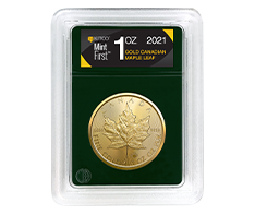 2021 1 oz Gold Maple Leaf (Single Coin) - MintFirst�