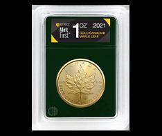 2021 1 oz Gold Maple Leaf (Single Coin) - MintFirst