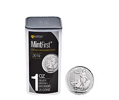 2018 MintFirst 1 oz Silver Britannia (25 coins)
