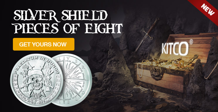 Silver Shield Pieces of Eight