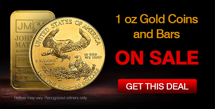 1 oz Gold ON SALE