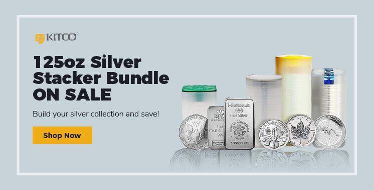 125 oz Silver Stacker Bundle