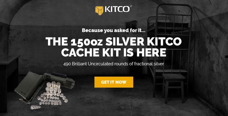 150oz Silver Cache Kit
