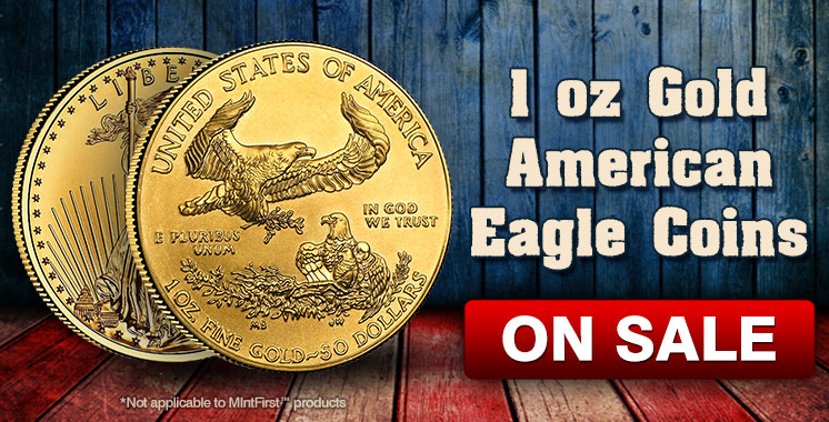 1oz Gold America Eagle
