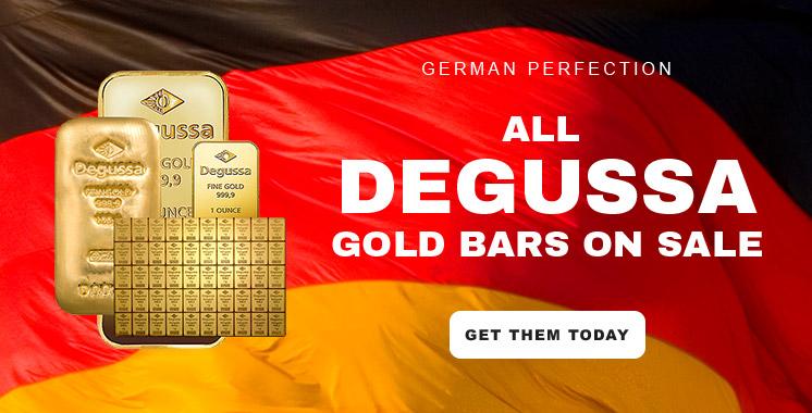 Degussa Gold Bars