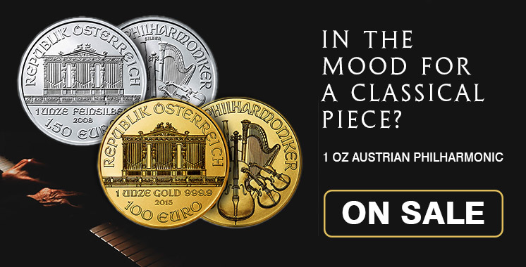 Gold & Silver Philharmonic Coins