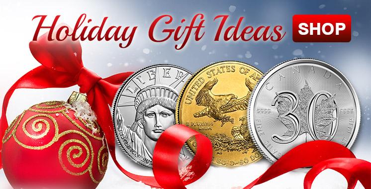 Holiday Promo - Bullion Coins