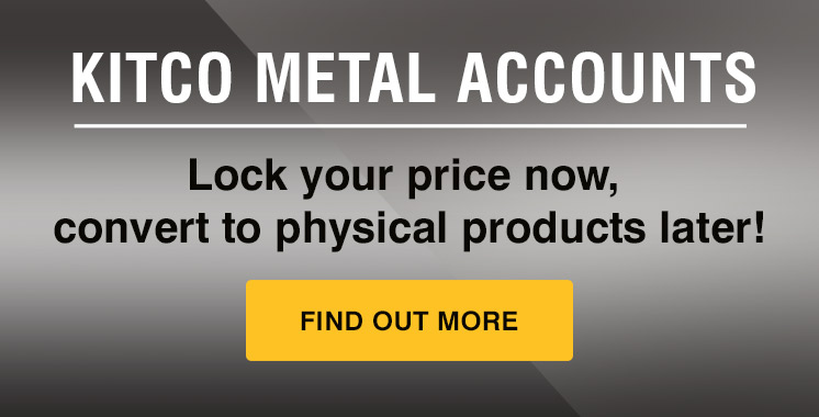 Kitco Metal Account