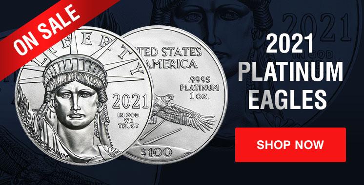 2021 1 oz Platinum Eagles