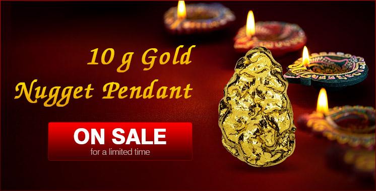 10g Gold Pendant