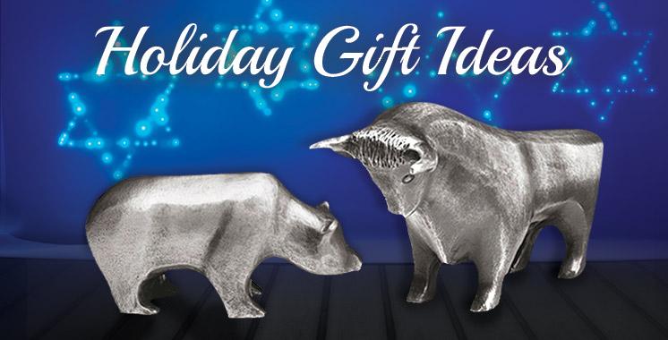 Holiday Bear & Bull Set