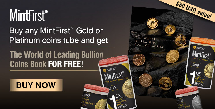 MintFirst� Gold Tubes Promo (Free Book)
