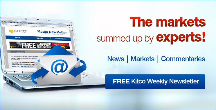 Free Kitco Weekly Newsletter