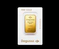 1 oz Gold Bars by Degussa