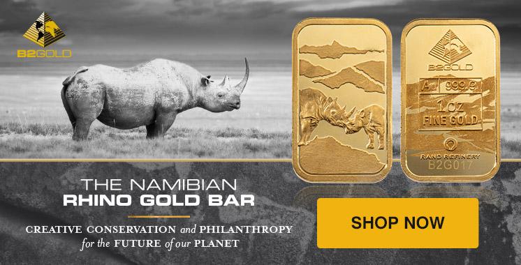 1 oz Gold Rhino