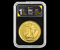 2018 1 oz Gold Britannia Coins MintFirst