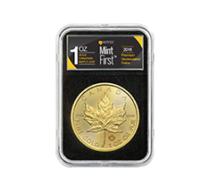 2018 MintFirst 1 oz Gold Maple Leaf Coins