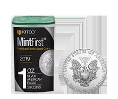 2019 MintFirst 1 oz Silver American Eagle (20 coins) .999