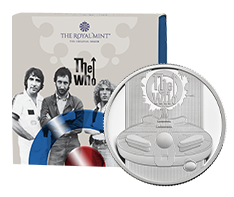 1/2 oz Silver Music Legends The Who Proof Coin (2021)